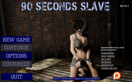 Download 90 Seconds Slave 0.8.3 Free PC Game for Mac