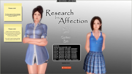 Download Research Into Affection 0.6.12f Free PC Game for Mac