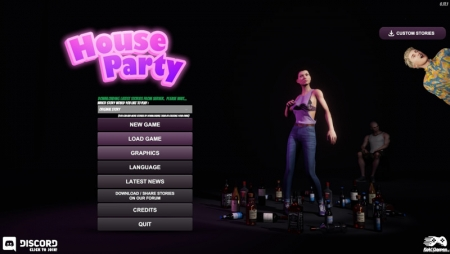 Download House Party 0.18.2 Free PC Game for Mac