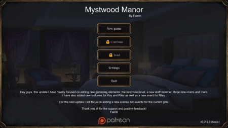 Download Mystwood Manor 0.4.0.6 Free PC Game for Mac